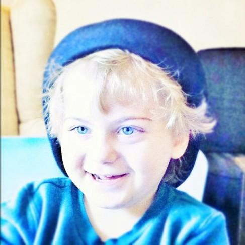 ...bluer than blue eyes...